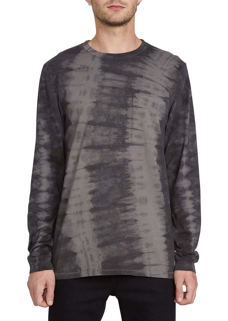 Volcom Chill Tie Dye Long Sleeve Pocket T-Shirt