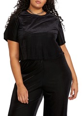 Volcom City at Night Crop Top (Plus Size)