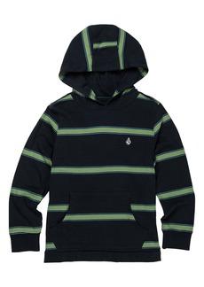 Volcom Da Fino Stripe Cotton Hooded T-Shirt (Toddler & Little Boy)