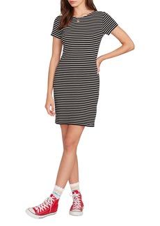 Volcom Dayze Dayz Stripe T-Shirt Dress