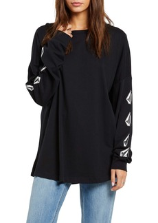 Volcom Deadly Stones Long Sleeve Organic Cotton T-Shirt