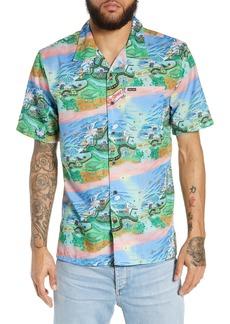 Volcom Drew Toonz Camp Shirt