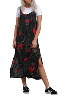 Volcom End of the Rose Midi Dress
