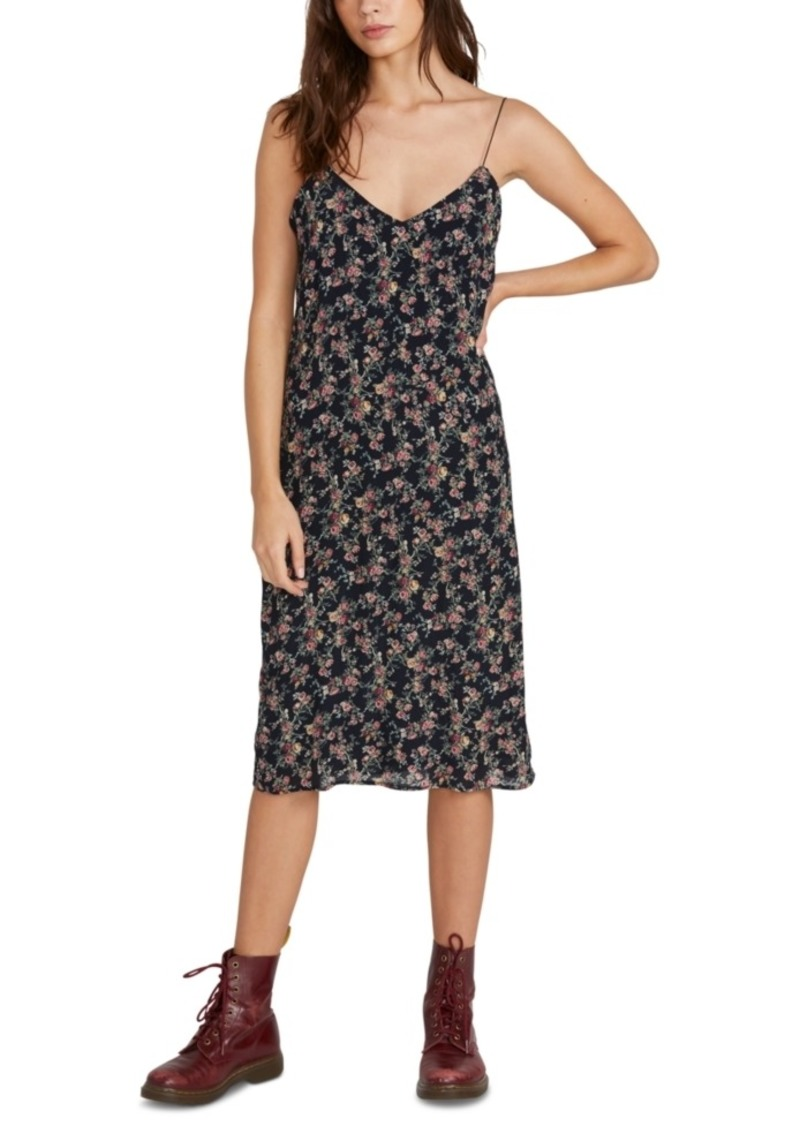 Volcom Flavor Up Printed Slip Dress