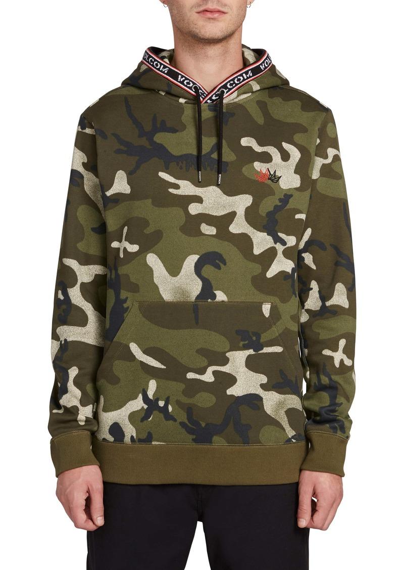 Volcom Forward to Past Camo Hooded Sweatshirt