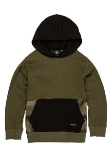 Volcom Forzee Colorblock Hoodie (Toddler & Little Boy)