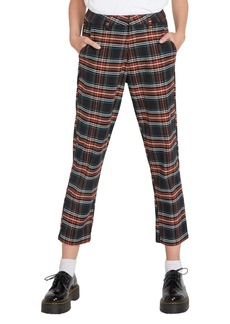Volcom Frochickie Plaid High Waist Pants