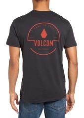 Volcom 'Heavy' Graphic Crewneck T-Shirt
