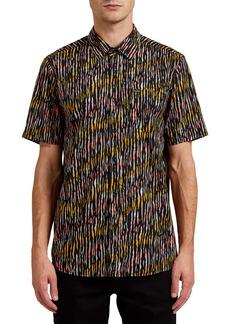 Volcom High Ball Short Sleeve Button-Up Shirt