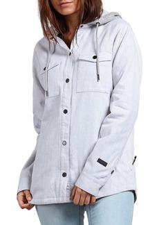Volcom Hooded Layered Jacket