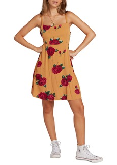 Volcom How Daisy Do It Tie Back Sundress