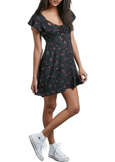 Volcom It's a Cinch Babydoll Dress