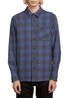 Volcom Joneze Buffalo Check Woven Shirt