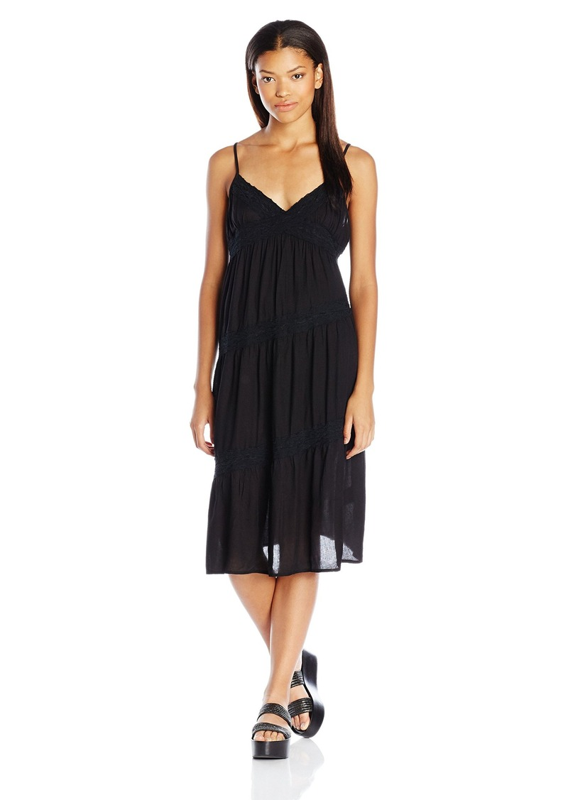 Volcom Juniors All Good Midi Cami Dress