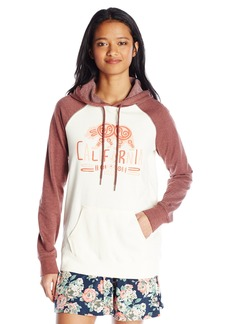 Volcom Junior's Bear Swirl California Pullover Graphic Hoodie