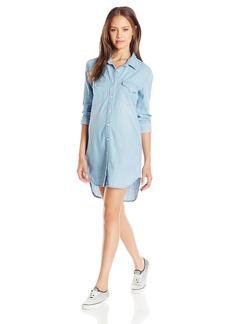 Volcom Juniors Blu Bells Shirt Dress