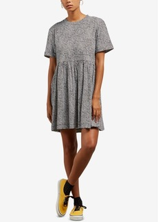 Volcom Juniors' Borabordo Striped Babydoll Dress