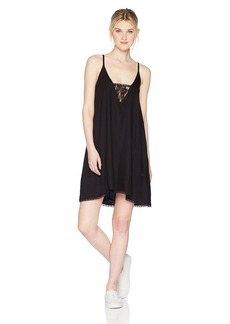 Volcom Junior's Bout Now Cami Mini Dress  XL
