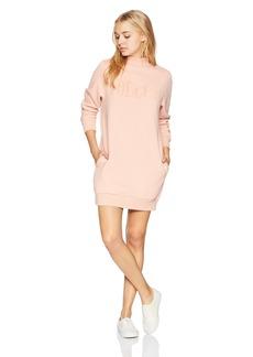 Volcom Junior's Burn City Fleece Dress  L