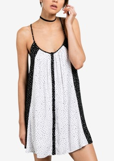 Volcom Juniors' Button-Front Shift Dress