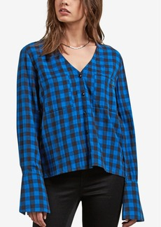 Volcom Juniors' Check Out Time Printed Top