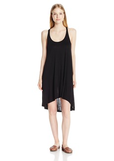 Volcom Junior's Conspiracy Hi-Low Jersey Dress  L