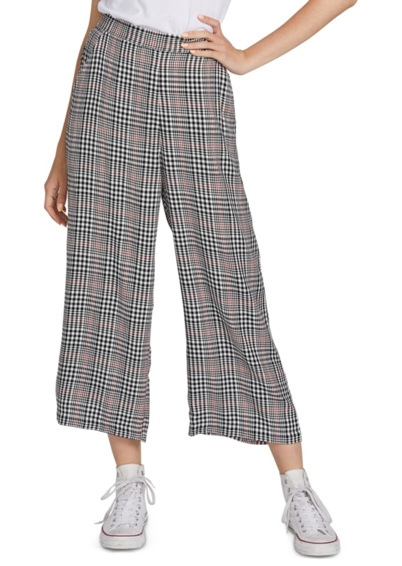 Volcom Juniors' Cropped Wide-Leg Pants