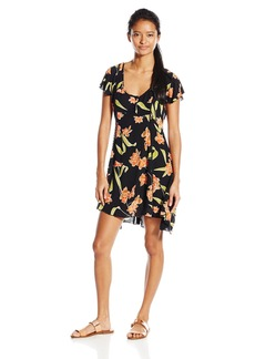 Volcom Junior's Crush Starter Floral Dress