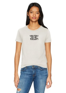 Volcom Junior's Don't Even Trip Short Sleeve Crew Neck Tee  M