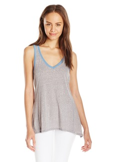 Volcom Juniors Down Tha Block v-Neck Tank Top