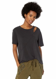 Volcom Junior's Flomingo Loose Fit Crew Neck Short Sleeve Top