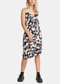 Volcom Juniors' Floral-Print Midi Dress