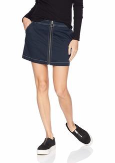 Volcom Junior's Frochickie Classic Plaid Mini Skirt