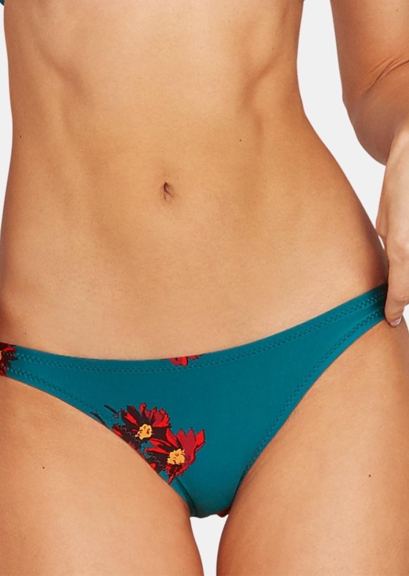 Volcom Juniors' Good to Grow Printed Hipster Bikini Bottoms Women's Swimsuit