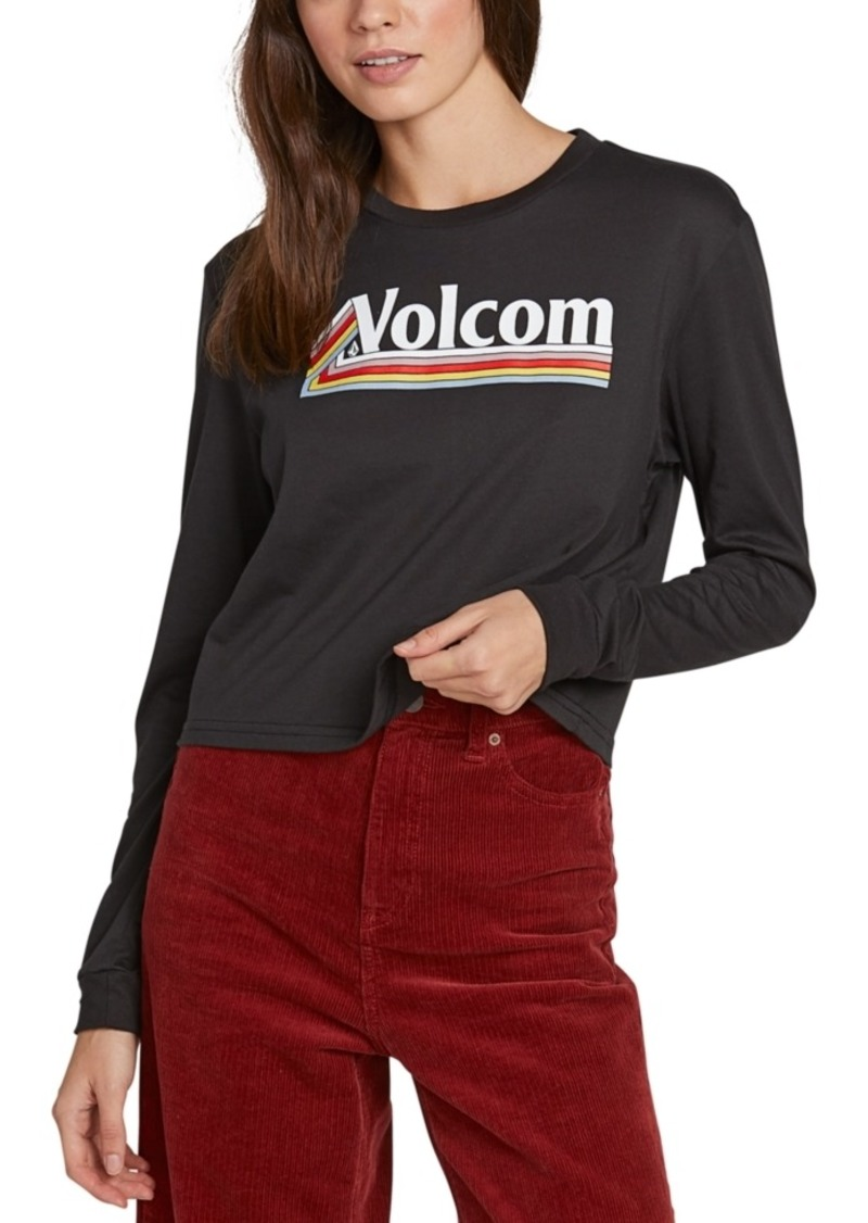 Volcom Juniors' Graphic-Print Top