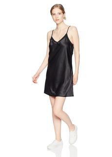 Volcom Junior's It's Happening Satin Slip Dress  M