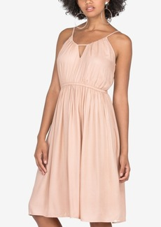 Volcom Juniors' Keyhole Fit & Flare Dress