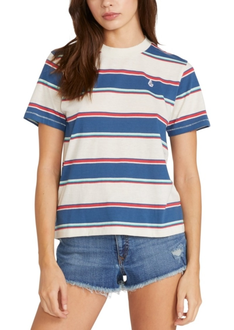 Volcom Juniors' Laney Striped T-Shirt