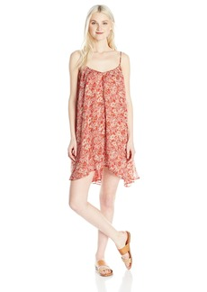 Volcom Junior's Laying Low 2 Floral Print Dress  S