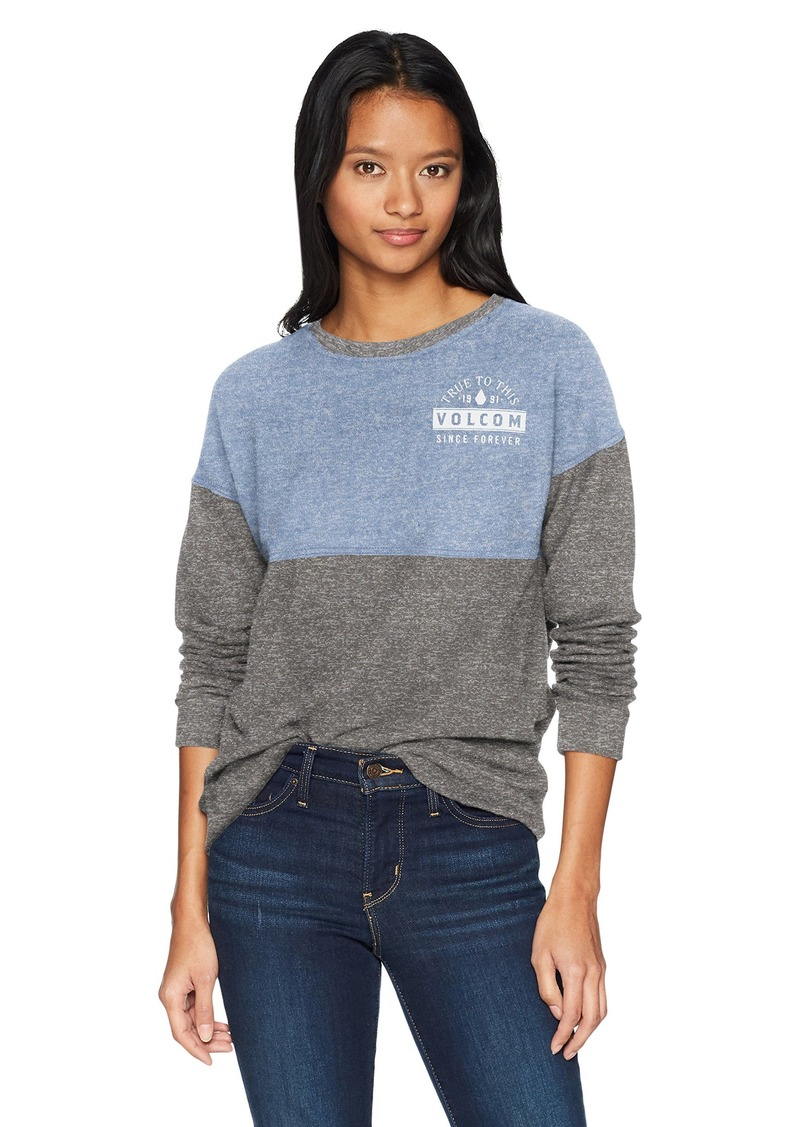 Crew Sweatshirt Junior's Fleece Lil Xs Neck mN8On0wv