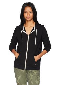 Volcom Junior's Lil Zip up Hoody Fleece Sweatshirt  XS
