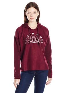 Volcom Junior's Lived in Graphic Pullover Hooded Fleece Sweatshirt  M