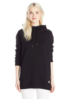 Volcom Junior's Lived in Long High Neck Sweatshirt  XS