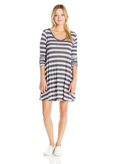 Volcom Juniors Lived in Long Sleeve Dress