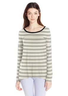 Volcom Junior's Lived in Long Sleeve Tee BLC S