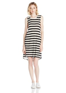 Volcom Junior's Lived in Rib Stripe Dress