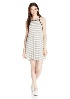 Volcom Junior's Lived In Strappy Tank Top Dress BLC XL