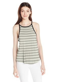 Volcom Junior's Lived in Strappy Tank Top BLC L