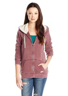 Volcom Juniors Lived in Color blocked Zip up hoodie