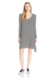 Volcom Juniors Maxed Out Stripe Swing Dress